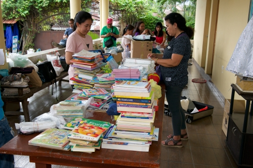 HCP 2018 1st day sorting books nice